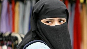 Face-covering veils banned at UK college