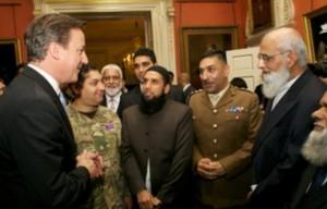 David Cameron hosts an Eid al-Adha reception at Downing Street.