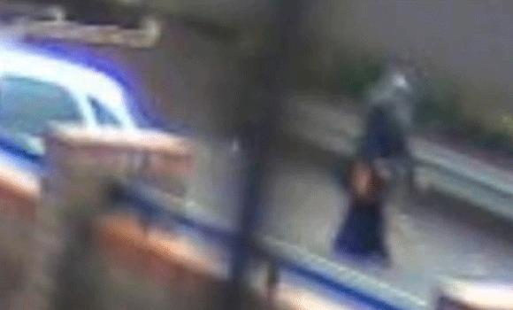 In this CCTV image Nahid is seen walking in Greenstead. (Courtesy: Daily Gazette)