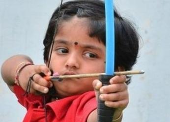 Two-year-old sets archery record