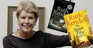 Best-selling British crime writer Ruth Rendell