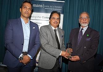 Veteran Muslim Aid staff member wins prestigious award