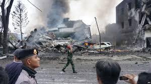 Indonesia transport plane crash