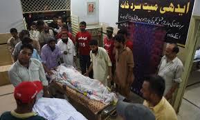 Over 100 die of heatstroke in Karachi