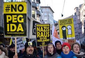 Thousands protest against PEGIDA