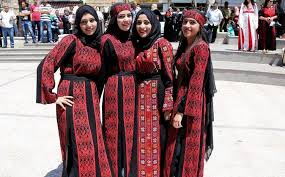 Cultural heritage march in Palestine