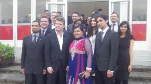 Eid Party in London at US ambassador's residence