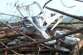 Indian spy drone shot down by Pakistan