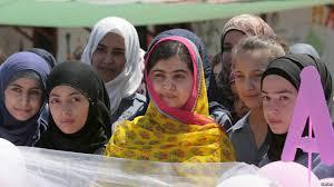 Malala opens school for Syrian girls