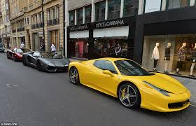 Rich Arabs hit UK streets this summer with supercars