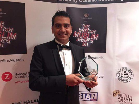 Atif Kamran is Businessman of the Year