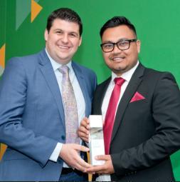 Taj Accountants wins Licensed Member of the Year 2017 Award from AAT