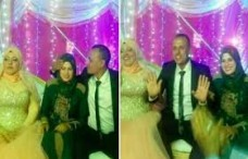 Egyptian woman attends husband's wedding to second wife