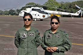 Bangladesh's first ever female military pilots
