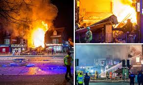 UK explosion