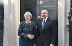 Azerbaijan leaders in London